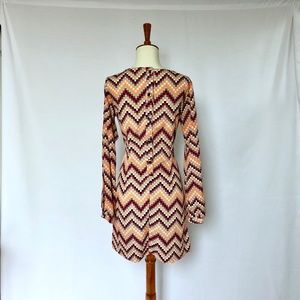 H&M Dresses - Chevron Dress
